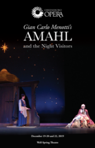Amahl and the Night Visitors poster